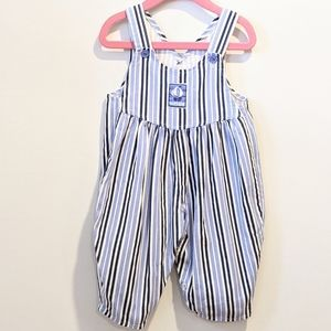 2/$20 Boys nautical bubble overalls 18 months